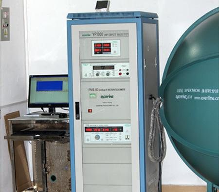 Integrating sphere spectrum analyzer