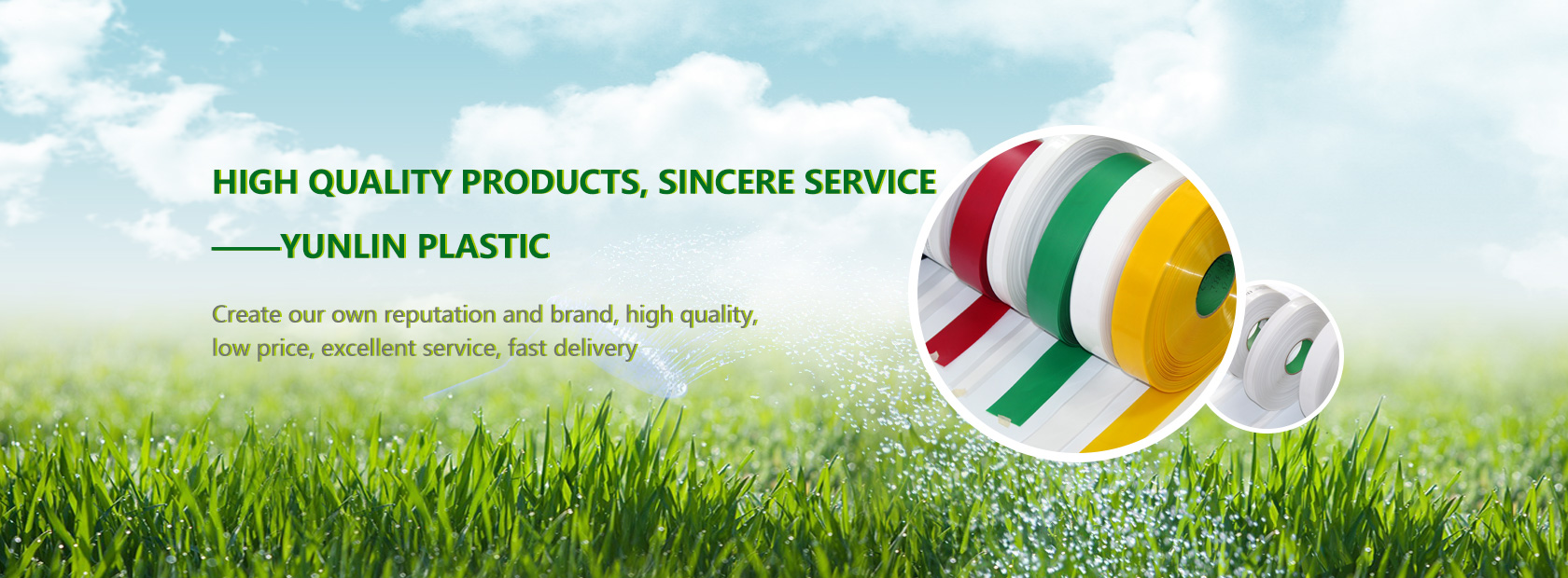 High quality products, sincere service - Yunlin plastic
